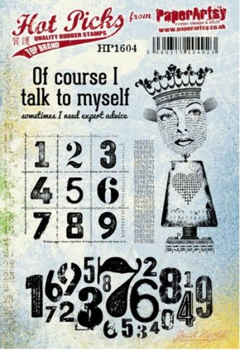 PaperArtsy Hotpick Rubber Stamps HP1604EZ