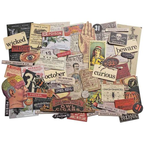 Halloween Idea-Ology Ephemera Pack 68/Pkg (TH94055)