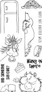 Hang in there DL Clear Stamp Stamp Set by Hobby Art (CS276D)