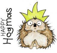 Happy Hogmas (CS322D) Hobby Art Stamps