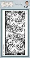 Henna Ink Phill Martin Cling Rubber Stamps (SYR013)