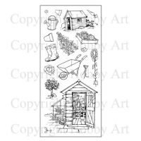 The Allotment Hobby Art Stamps (CS092D)