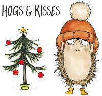 CS323D Hogs & Kisses Hobby Art Stamps