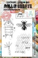 No. 330 Honey Bee Aall and Create A5 Stamp