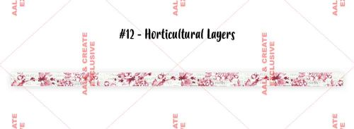 Horticultural Layers (No. 12) 15mm thick washi tape by Tracy Evans for Aall and Create (AALWT012)