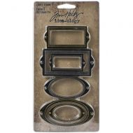 IdeaOlogy Label Frames Metal Adornments 6 pack TH94052