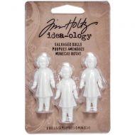 Idea-Ology Salvaged Dolls 3/Pkg (TH93196)