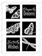 Impression Obsession Stamp Set - Butterfly Wishes Squares