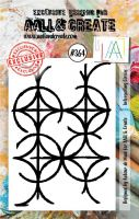 No. 364 Intersecting Circles Aall and Create A7 Stamp