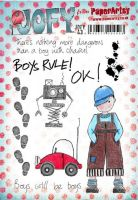 PaperArtsy Jo Firth-Young 43 A5 Rubber Stamps