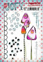 JOFY Jo Firth Young (JOFY92) Paperartsy a5 cling rubber stamp set