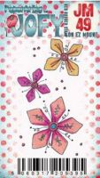 JOFY Mini 49 - (JM49) PaperArtsy credit card sized cling rubber stamp