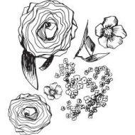Jane Davenport Artomology Clear Stamps-Build A Bouquet