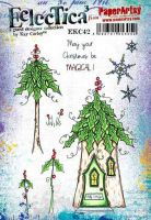 E Kay Carley Paperartsy A5 Cling Rubber Stamp Set (EKC42)
