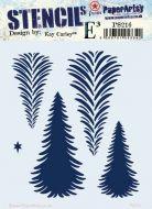 Kay Carley Regular PaperArtsy Stencil (PS216)