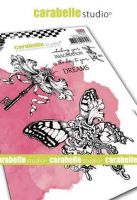 Key to dreams Cling Stamp A6 for Carabelle Studio by Jen Bishop (sa60509e)