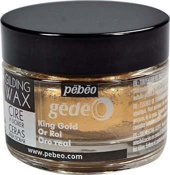 King Gold Gilding Wax (UK ONLY) by Pebeo Gedeo (30ml)