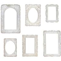 Lace Idea-Ology Baseboard Frames (TH93786)
