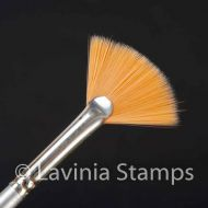 Synthetic Fan Brush (max 2) by Lavinia Stamps (LSB040)