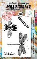 Little Critters (No. 436) A7 sized stamp by Tracy Evans for Aall and Create (AAL00436)