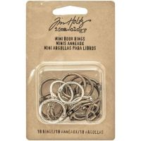 "Idea-Ology Metal Mini Book Rings .75"" 18/Pkg (TH93272)"