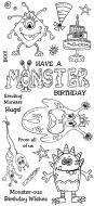 Monster Birthday DL Hobby Art Stamp Set (CS263D)