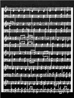 Music Score designed by Valerie Sjodin for Stencil Girl (9 inch by 12 inch)