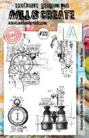 No. 323 Navigate Home Aall and Create A5 Stamp