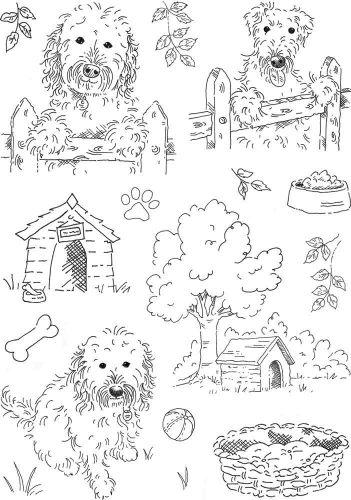 Neighbours A5 Hobby Art Stamp Set (CS262D)