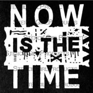 Now is the Time Mini 4 inch by 4 inch Stencil (M138) by Seth Apter for StencilGirl