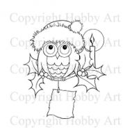 Otto Owl Stamps Hobby Art