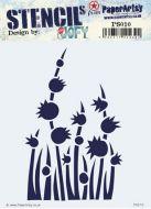 PS010 JOFY PaperArtsy Stencil