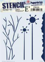 PaperArtsy Stencil {EDY} 030