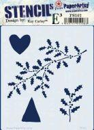 Kay Carley PS162 PaperArtsy regular stencil