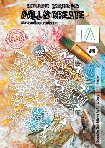 No. 91 Panache Aall and Create A4 Stencil