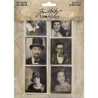 Idea-Ology Photobooth Vintage Photo Strips 40/Pkg (TH93799)