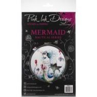 Pink Ink Design A5 Clear Stamp Set - Mermaid
