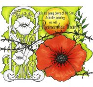 Remember them P6 Clear Stamp Set by Hobby Art (CS298D)