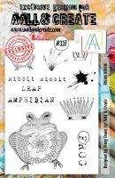 No. 327 Ribbit Ribbit Aall and Create A5 Stamp