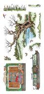 CS128D Hobby Art Stamps - Riverside