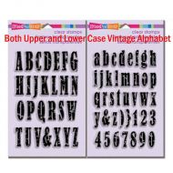 Stampendous Vintage Lower AND Upper case