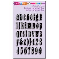 Stampendous Vintage Lowercase - Perfectly Clear Set