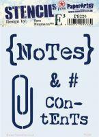 Sara Naumann Eclectica (PS220) Regular PaperArtsy Stencil