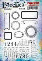 Expected Despatch Thur 28th Scrapcosy Eclectica (ESC21) A5 PaperArtsy Cling Rubber Stamp Set