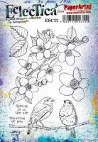 Expected Despatch Thur 28th Scrapcosy Eclectica (ESC22) A5 PaperArtsy Cling Rubber Stamp Set