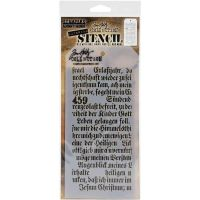 Script - Layered Stencil - Tim Holtz and Stampers Anonymous (THS149)