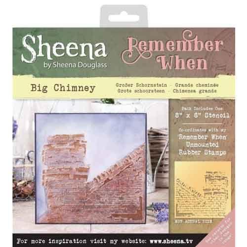 Sheena Douglass - Remember When -Big Chimney Stencil