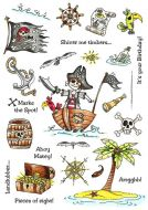 CS221D Hobby Art Stamps - Shiver me Timbers