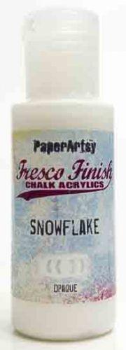 Snowflake Fresco Finish PaperArtsy Paint (Family 17)
