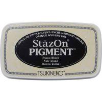 Stazon Pigment Ink Pad Piano Black (SZ-PIG-031)